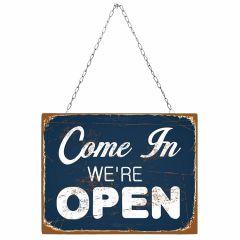 Come In Were Open