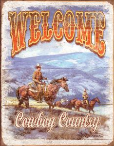 Welcome Cowboy Country