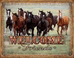 Welcome Friends - Horses