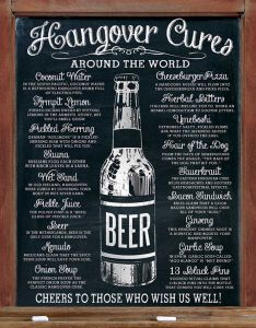 Hangover Cures - around the world