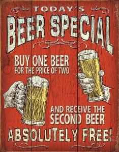 Today's Beer Special